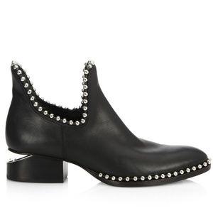NEW ALEXANDER WANG Kori Studs Ankle Boot